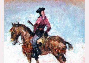 bandolero a caballo del Museo del bandolero