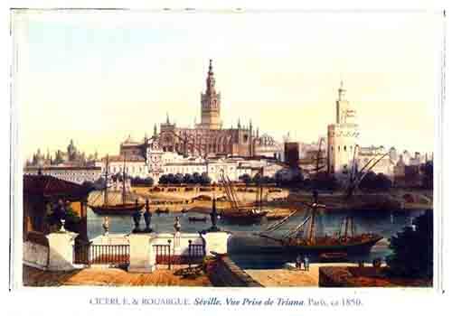 Grabado de Sevilla